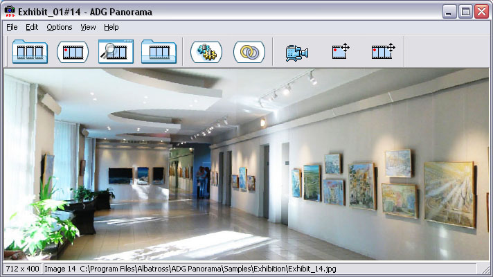 Click to view ADG Panorama Tools Pro 5.4 screenshot